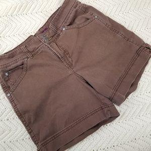 Gloria Vanderbilt Brown Shorts